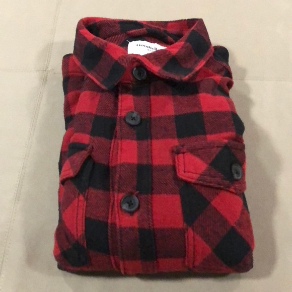 Goodfellow & Co Other - Men's goodfellow and co checkered flannel shirt